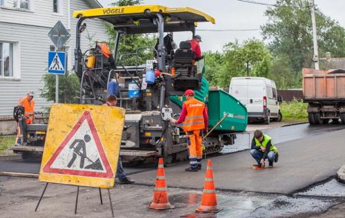 Губернатор поинтересовался у мэра Великого Новгорода, как обстоят дела с ремонтом дорог