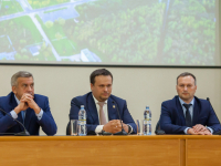 Андрей Никитин оценил достижения «Акрона» в социальной сфере