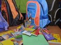 Более чем 30 детям из Новгородской области «Наполнили школьный портфель»