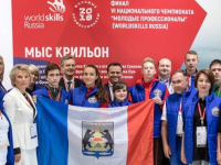 Фото: новгородская команда VI Национального Чемпионата «Молодые профессионалы»