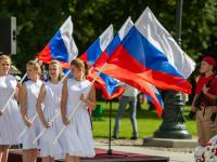 Фоторепортаж: День государственного флага РФ на Родине России