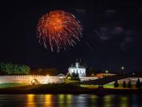 Фоторепортаж: фейерверк в Великом Новгороде