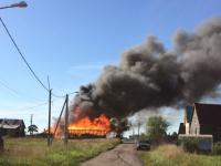 МЧС предупреждало: в новгородском Трубичине произошел пожар