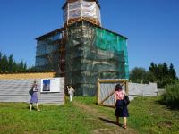 На острове Липно трудятся реставраторы и археологи