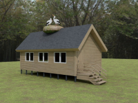 Валдайский нацпарк поддержал строительство зимнего дома для аистов в Псковской области