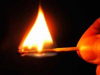 Подробности пожара в Сырково: строение подожгли