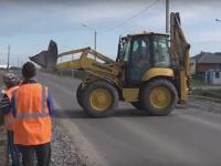 Реконструкция дороги из Великого Новгорода в Хутынь приближается к экватору