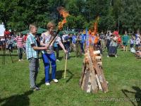 Участники праздника в Белебёлке: «Мы все сегодня были партизанами»