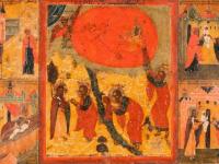 В день пророка Илии в Новгородском музее напомнили об «огненной» иконе из своего собрания