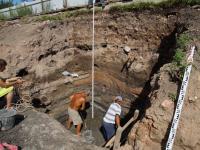 В Старой Руссе археологи попали в колодец времени