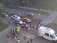 В Великом Новгороде мотоциклист без прав отказался от госпитализации после ДТП