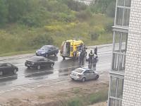 В Великом Новгороде сбили трех велосипедистов