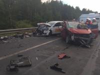 В жуткой аварии в Чудовском районе пострадали четыре человека