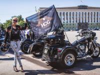 Великий Новгород посетили участники международного мотофестиваля  St. Petersburg Harley®Days (фоторепортаж)