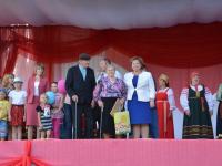 Жители Мошенского отметили 91-летие со дня образования района