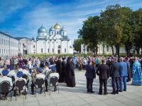 Фоторепортаж: День зарождения российской государственности в Великом Новгороде