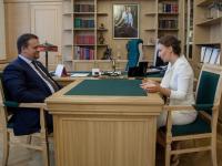Губернатор Новгородской области и детский омбудсмен обсудили успехи и проблемы региона