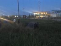 На автобусной остановке в Новой Мельнице сбили двух мужчин