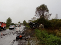 На трассе в Новгородской области произошла третья смертельная авария за неделю