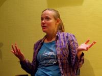 Нина Дашевская о новгородском спектакле «Я не тормоз»: «Получилось совершенно безумно!»