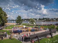 В Великом Новгороде почтили память погибших во время терактов
