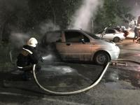 В Великом Новгороде за один вечер сгорели два автомобиля