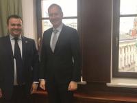 Губернатор Новгородской области начал рабочую неделю встречей с руководителем Федерального казначейства