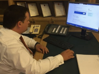 Андрей Никитин принял участие в пробной переписи населения