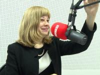 Анна Черепанова открыла эфир «Людоведов» на радио «Комсомольская правда Великий Новгород»
