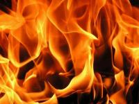 Cегодня вечером в Подберезье горел асфальтобетонный завод