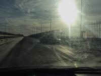 ДТП на Деревяницком мосту: новгородских водителей подстерегает гололедица