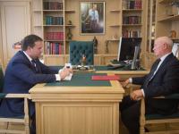 Губернатор обсудил с главой Шимского района реализацию инвестпроектов и судьбу Аракчеевских казарм