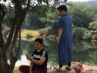 Китайский дневник новгородца: женщины у пруда, которые поют