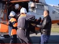 Медики прокомментировали состояние мужчины, доставленного на вертолете МЧС из Холма