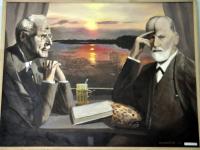 Новгородские психиатры представили в Москве картины своих пациентов