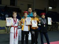 Новгородские тхэквондисты завоевали 22 медали на турнире в Смоленске
