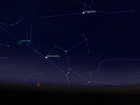 Сегодня жители Новгородской области смогут увидеть на небе «детей» кометы Галлея