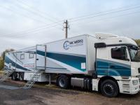 Видео: уникальный для России медицинский автопоезд работает в Новгородской области