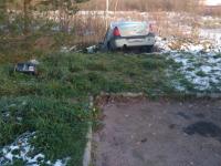 В Новгородской области два «Рено Логана» улетели в кювет