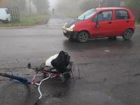 В Новгородской области после аварий госпитализировали велосипедиста и пассажира автобуса