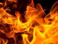 В Шимске воскресным вечером горела квартира