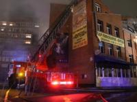 В Томске пожарные спасли из горящего ночного клуба более ста человек