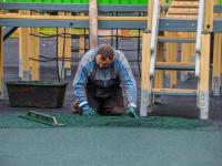 В Великом Новгороде уличные спортсмены скоро опробуют новые тренажеры