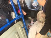 Журналист «53 новостей» стала очевидцем неприятного происшествия в городском автобусе