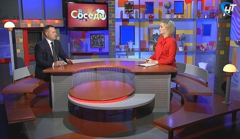 Сергей Бусурин в прямом эфире «Соседей» ответит на волнующие новгородцев вопросы