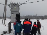 100 населенных пунктов Новгородской области остались без электроэнергии