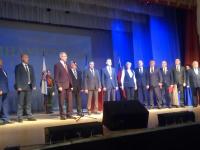 Александр Розбаум вступил в должность старорусского главы и принимает поздравления