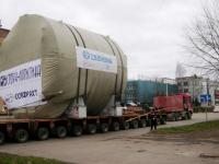«Бочка-2»: шлюз для белорусской АЭС успешно проследовал через Старую Руссу