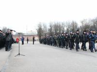 Более ста новгородских полицейских отправились в командировку на Северный Кавказ