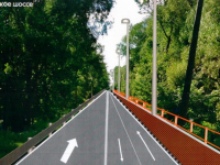 Дорогу вдоль «Витославлиц» оборудуют велополосой и тротуаром с пешеходным ограждением